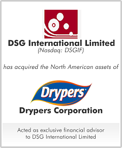 Drypers Corporation