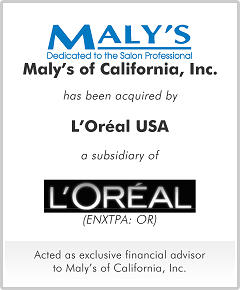 Maly's of California, Inc.