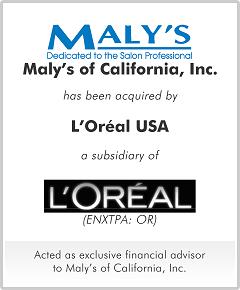 Maly's of California, Inc.