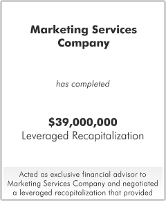 Marketing Services Company