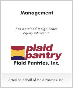 Plaid Pantries