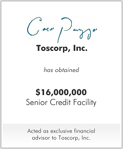 Toscorp, Inc.